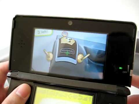 Nintendo 3DS AR Games and Cards (Augmented Reality)