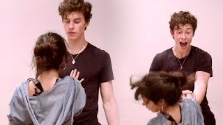 Gambar cover Shawn Mendes Drops Camila Cabello During Senorita Rehearsals!