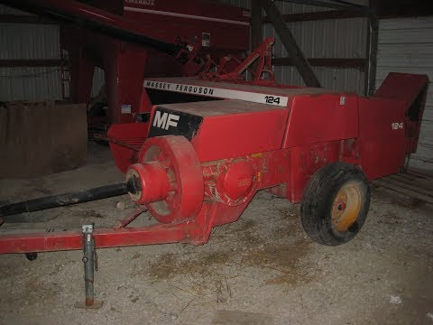 Massey Ferguson 124 Square Baler Sold on Farm Estate Auction in Iowa 3/2/18