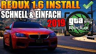 GTA 5 REDUX 1.6 INSTALL SCHNELL UND EINFACH! ( 2019 )