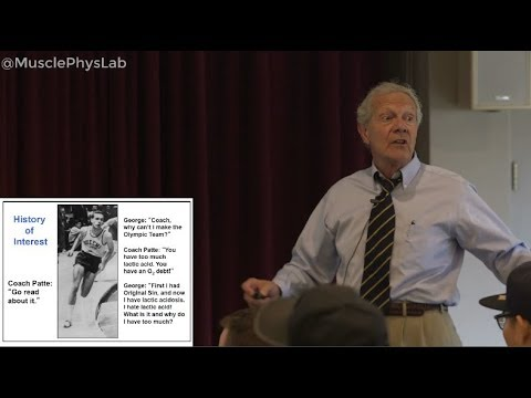 The Lactate Shuttle (MPLS 2017): Dr. George Brooks