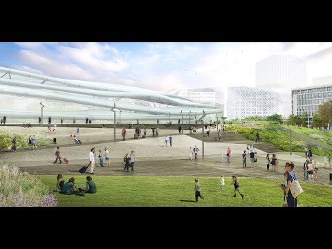 Gare de Rennes : 3 ans de chantier en 2 minutes !