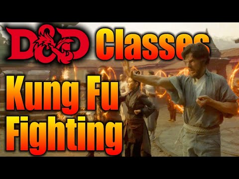 The Monk Kung Fu Fighting Their Way Through D&D 5e| Dungeons and Dragons 5th Edition Classes