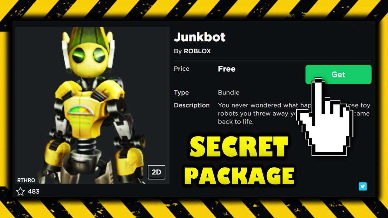 Free Secret Rthro Package Junk Bot Get Now Roblox Youtube