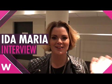 Ida Maria composer of ''Mamma's Boy'' Melodi Grand Prix 2017 FINAL (INTERVIEW)