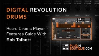 Digital Revolution Drums Player From Wave Alchemy - Tour Review With Rob Talbott