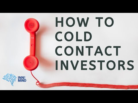 How to cold contact investors and avoid typical mistakes.