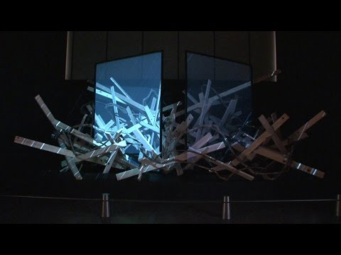 "(Digest)""プロジェクション華屏風"" Projection Hana-byobu/Folding Screen"