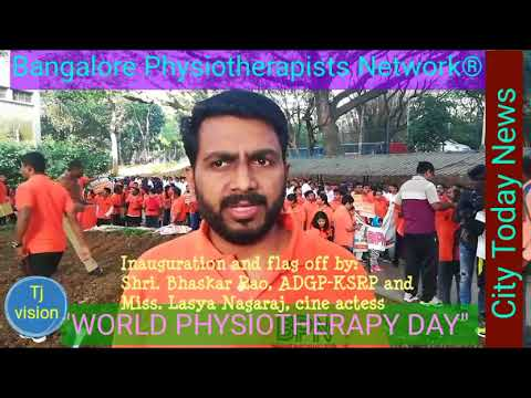 """""""WORLD PHYSIOTHERAPY DAY"""" Organised by """"BANGALORE PHYSIOTHERAPISTS NETWORK®"""""""