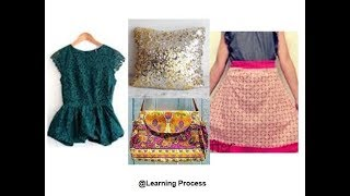 9 ways to reuse or recycle old Dress | Learning Process