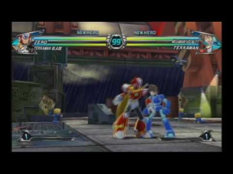 X Vs Zero (Battle Music) in Tatasunoko Vs Capcom