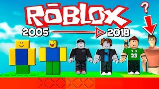 The Story of Roblox 2005-2018 in an OBBY