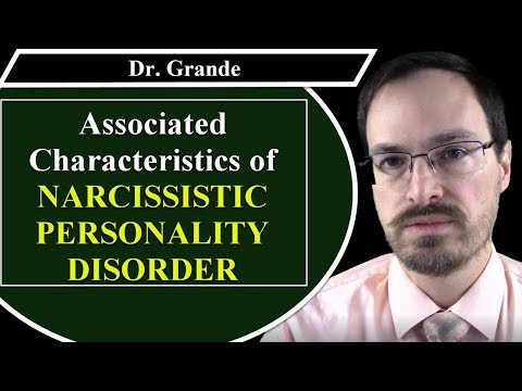 What are the Associated Characteristics of Narcissistic Personality Disorder?