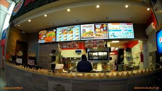Comprando Hamburguesas En Burger King Oaxaca México