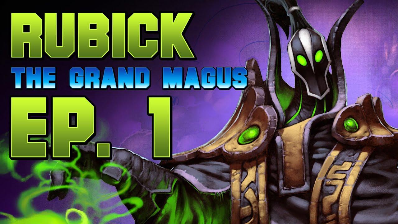Dota  Rubick The Grand Magus Ep