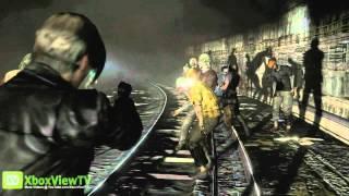 "Resident Evil 6 | Leon ""Underground"" Gameplay | 2012 | HD"