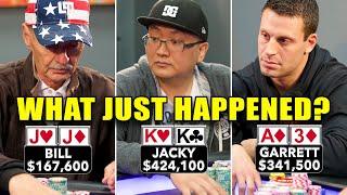 What Just Happened?!? KK vs JJ in High Stakes Poker♠ Live at the Bike!