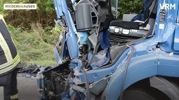 Lkw-Unfall auf A3 bei Niedernhausen