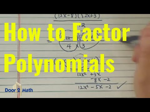 3 Factors and Roots of a Polynomial Equation - IntMath