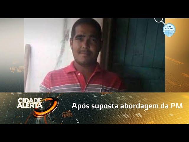 Pedreiro está desaparecido desde o dia 9 de outubro; família faz apelo