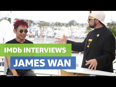 Aquaman Director James Wan ComicCon  with Kevin Smith