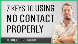 7 Keys To Using The No Contact Rule Properly