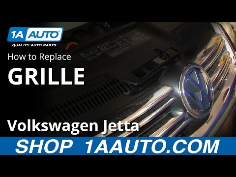 How to Replace Front Grille 05-10 Volkswagen Jetta
