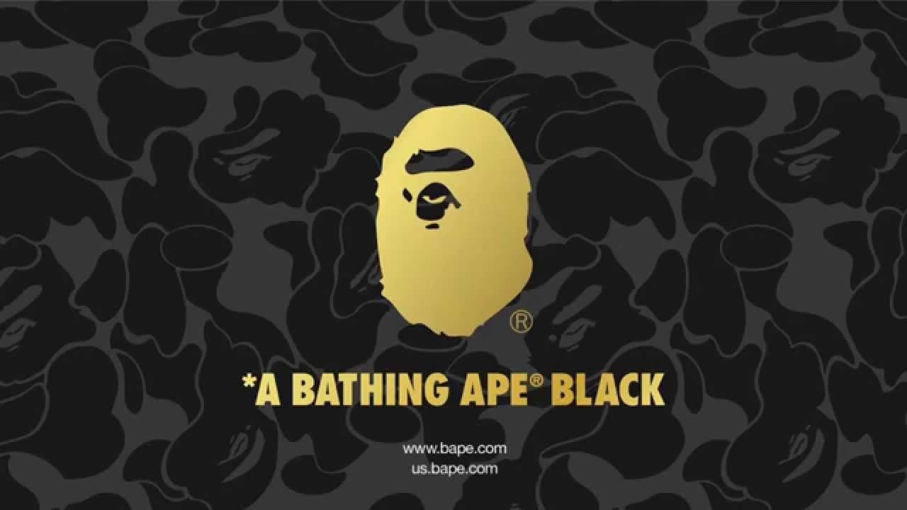 A Bathing Ape Black A BATHING APE®...