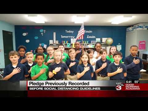 Today's Pledge of Allegiance 04-17-2020