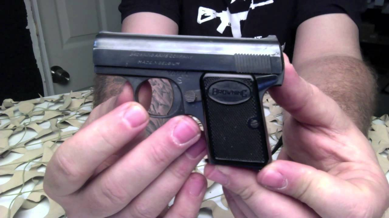 Baby Browning 25acp Micro Compact Pocket Pistol Overview