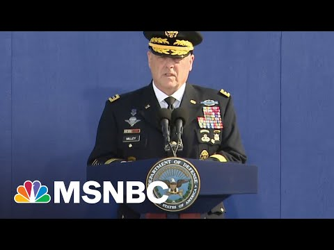 Gen. Milley Honors 9/11 Victims, Families At Pentagon On 20th Anniversary