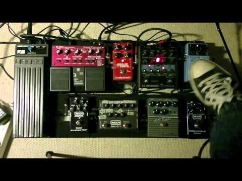 Bass effect pedal demo