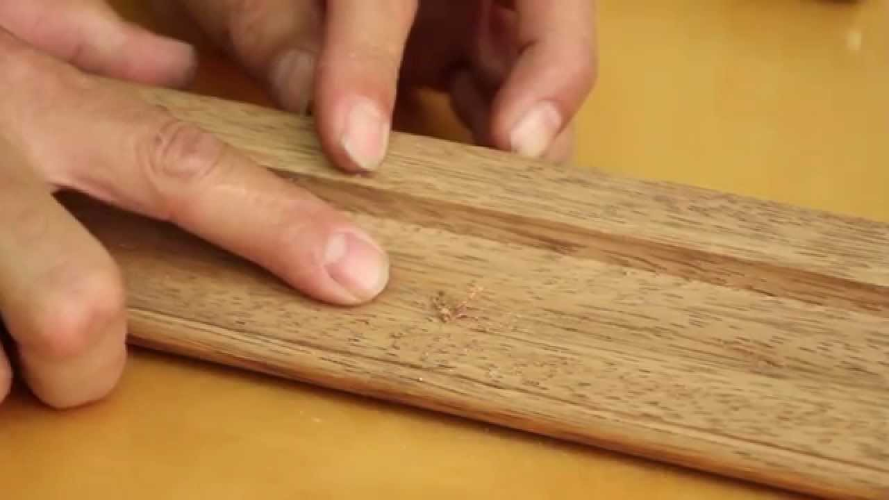 ETO Doors - How to fix wood dent on a door - YouTube