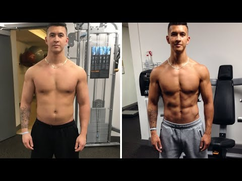 CRAZY 3 Month Transformation: Step-By-Step How I lost 23 lbs and 10% Body Fat