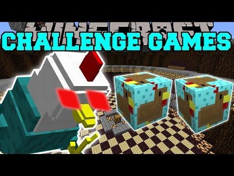 Minecraft: MUTANT THANKSGIVING TURKEY CHALLENGE GAMES - Lucky Block Mod - Modded Mini-Game