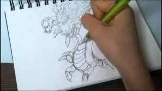 크리스마스바론그리기/How to draw Baron