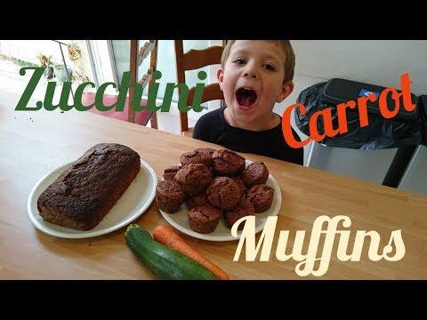 Zucchini Carrot Muffins/Loaf