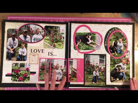 12 X 12 Scrapbook Page Layouts Designs