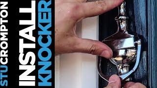 How To Install Front Door Knocker