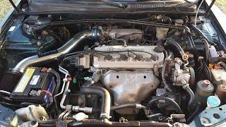 Test driving my Acura CL (F22B, SOHC, VTEC)