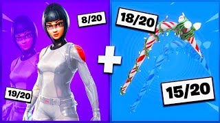 🔥 I NOTE YOUR 20 TRYHARD SKIN COMBOS ON FORTNITE! v24
