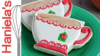 How To Decorate Tea Cup Cookies, Tea Party