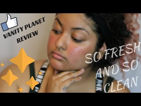 So Fresh And So Clean!!!! Vanity Planet Cleanser Brush Review
