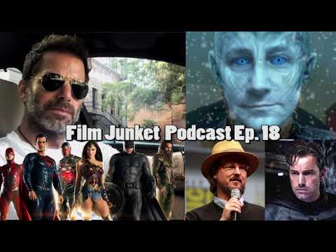 Justice League Reshoots, Zack Snyder Short Film, and Campea Response - Film Junket podcast Ep. 18