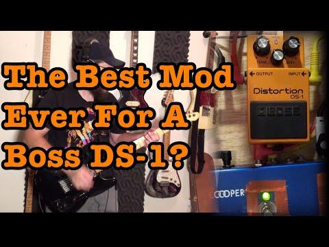 The Best Mod Ever For A Boss DS-1?  Wampler JCM Mod