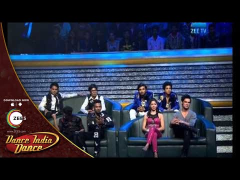 Dance India Dance Season 4  February 09, 2014 - Sumedh & Paul's Performance