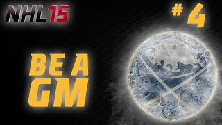 NHL 15: Be a GM Buffalo Sabres Ep. 4 -