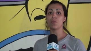 Daiana Monarth fala da satisfação de visitante ao projeto Paz e União na cidade de Limoeiro do Norte