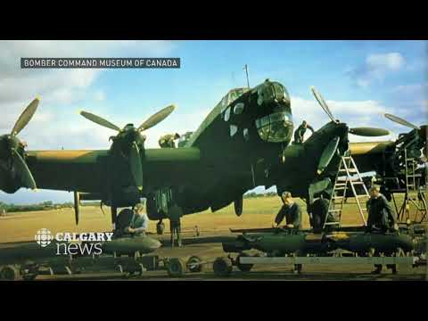 Work starts to bring WW II Halifax bomber from Swedish seabed to Alberta town