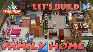 Sims Freeplay - Let's Build Another Family Home (live Build Original House Design)